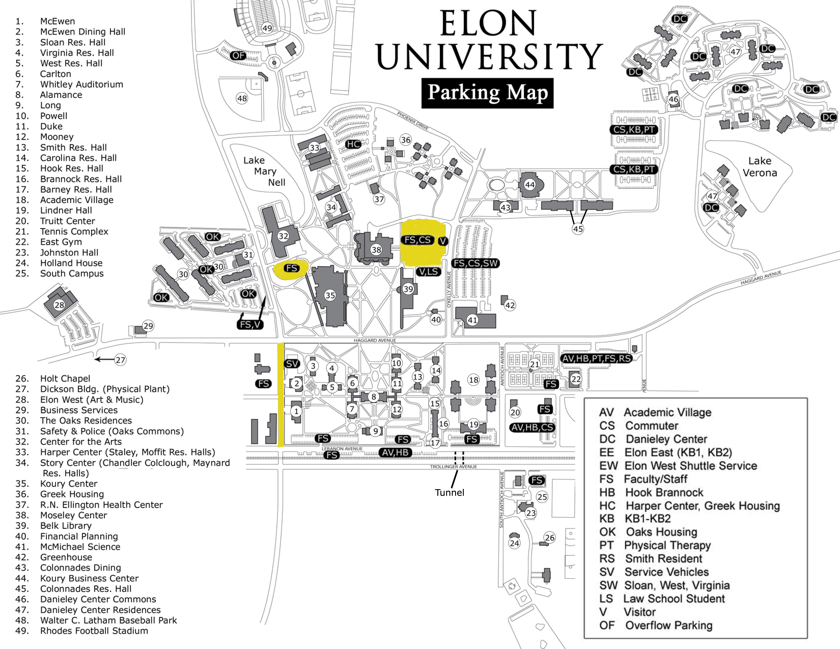 U Of U Parking Map