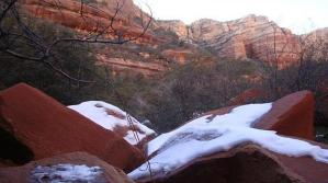 Hiking Fay Canyon in Sedona, Arizona