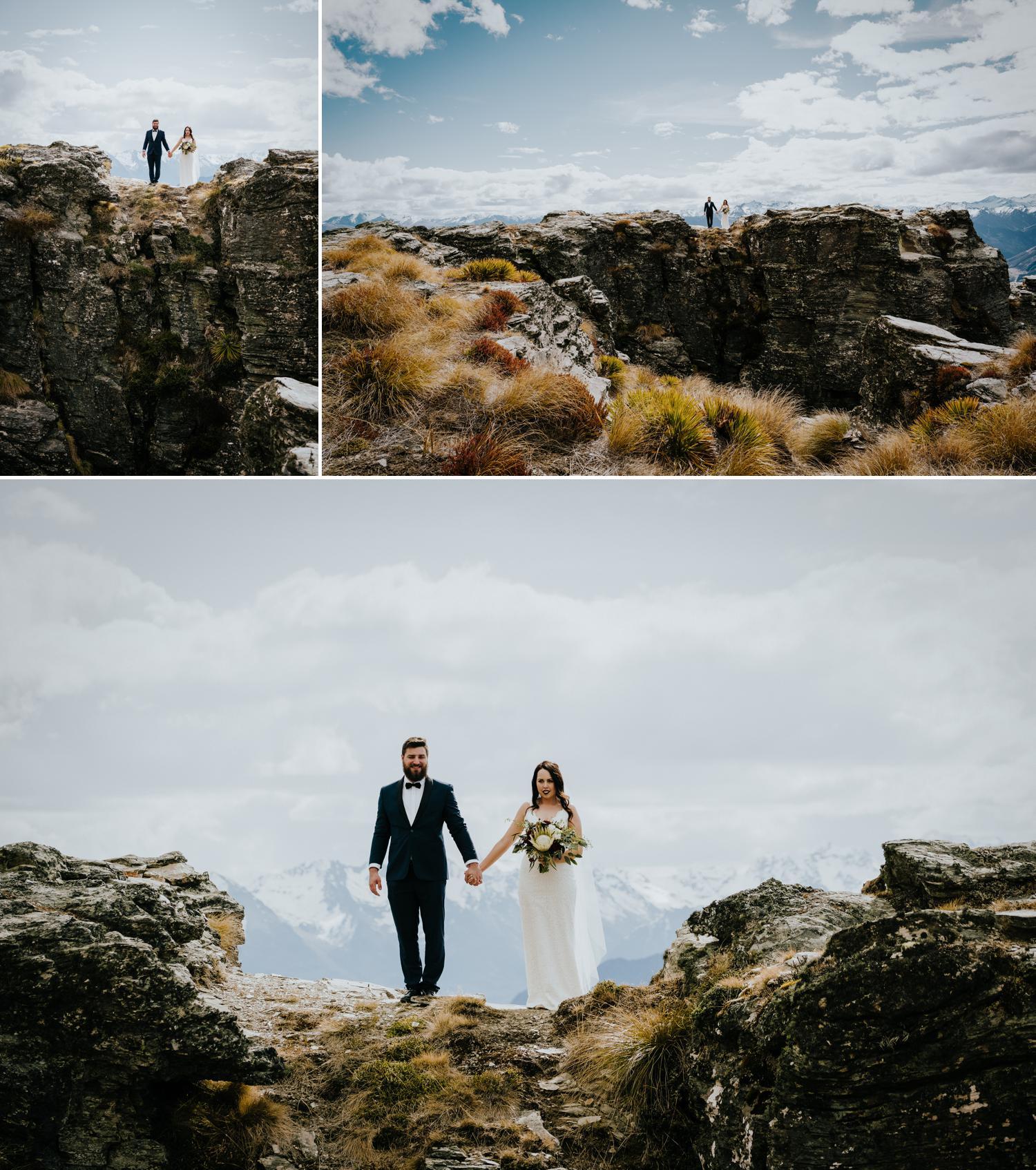 The Ledge wedding photograph