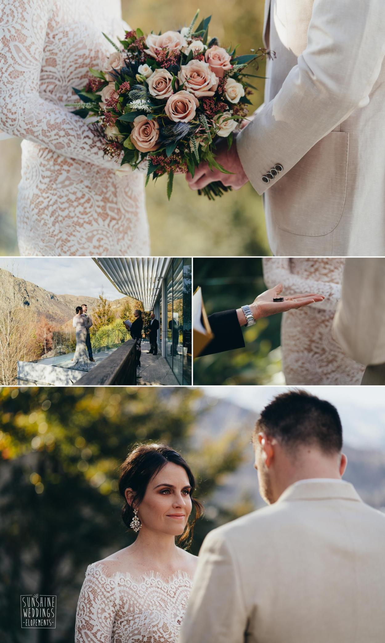 Secret elopement wedding