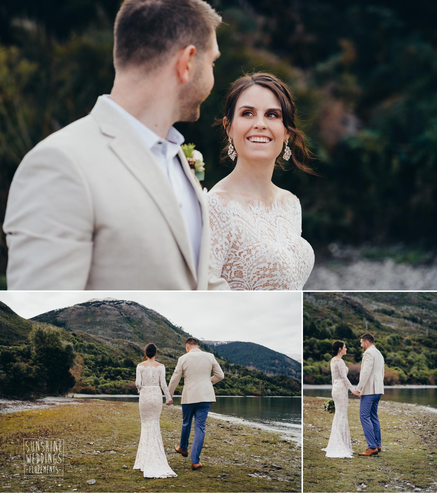 lakeside wedding Queenstown