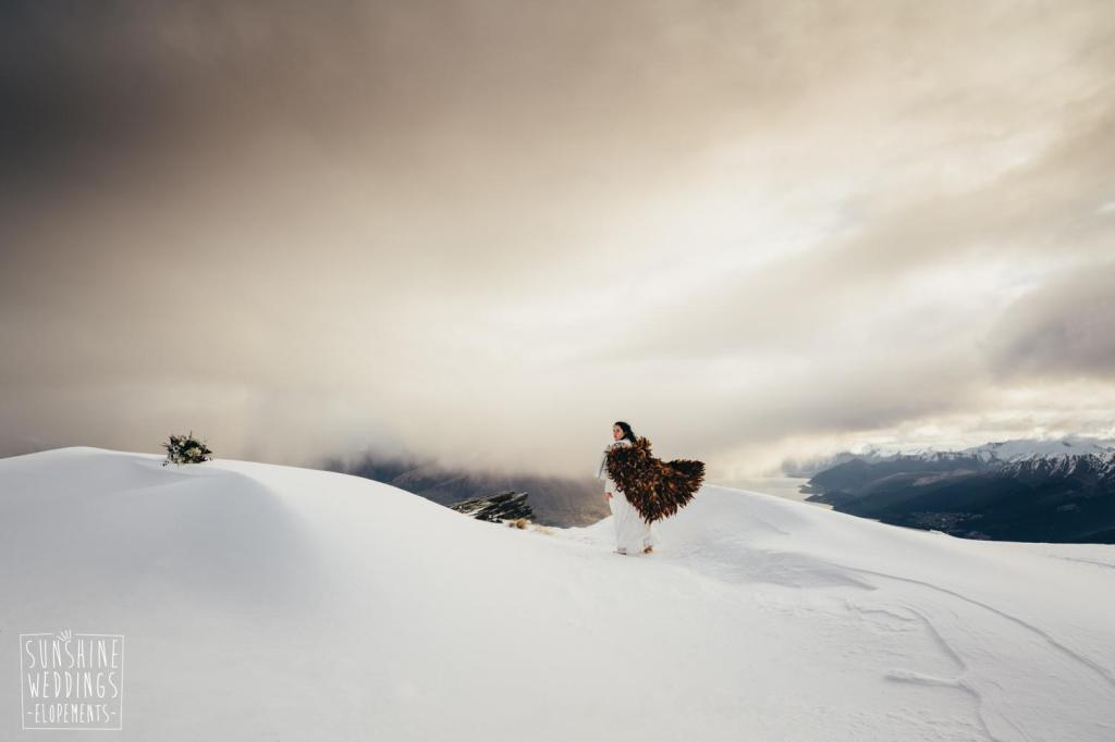 The Remarkables wedding packages - elopement wedding on The Remarkables mountains