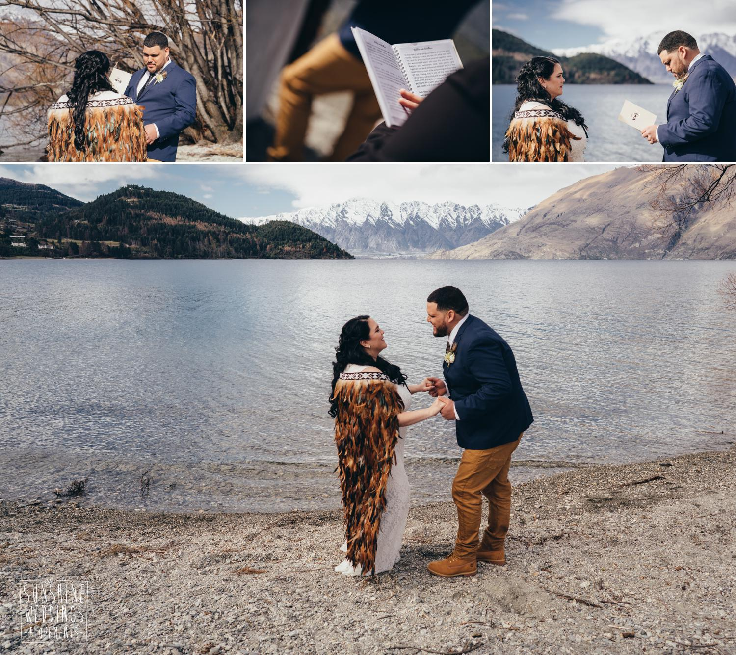 Lakeside wedding packages Queenstown