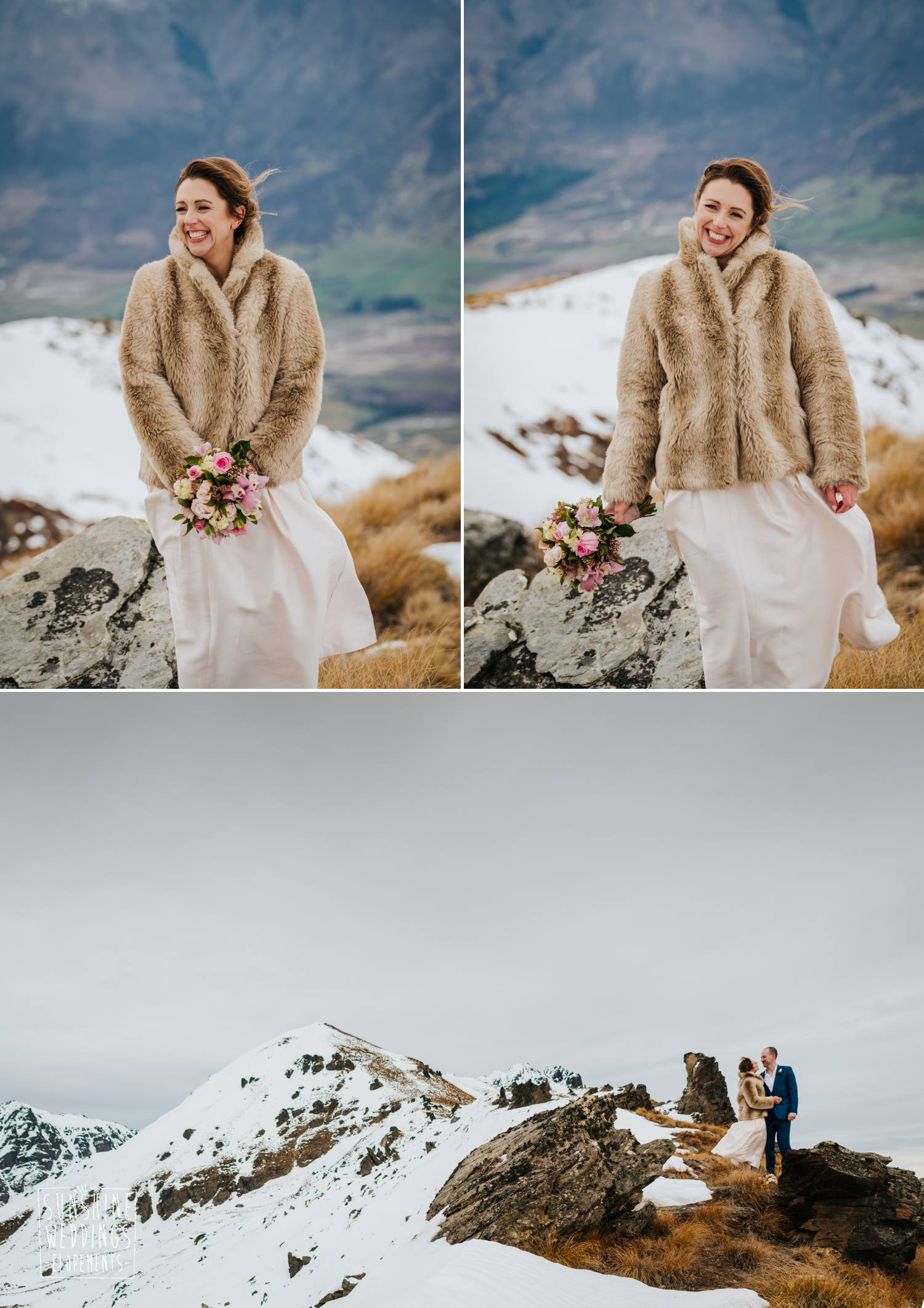 Elopement weding photos