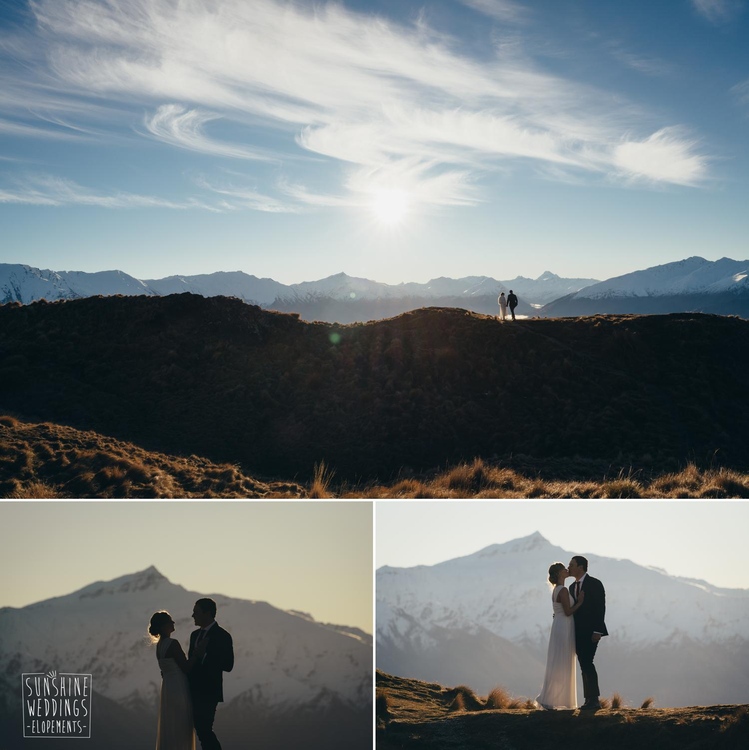 Mountain wedding Wanaka