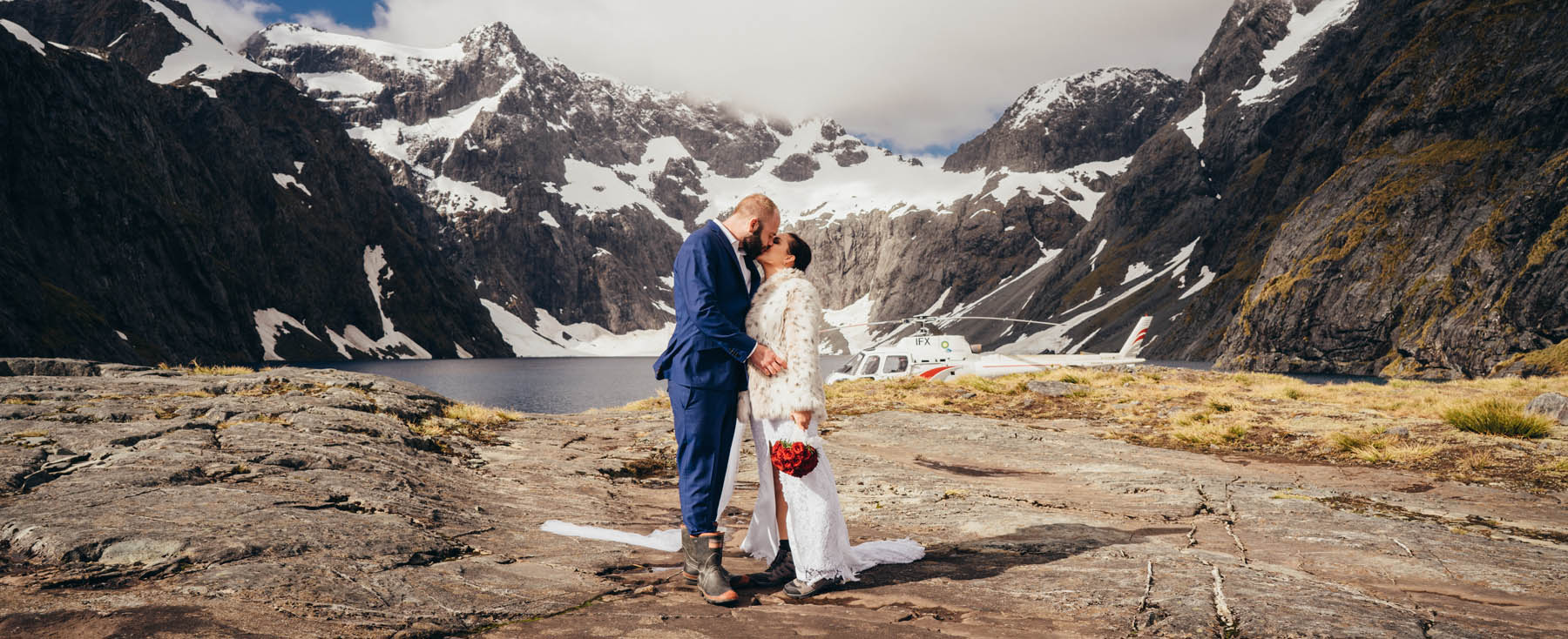 Lake Erskine mountain wedding