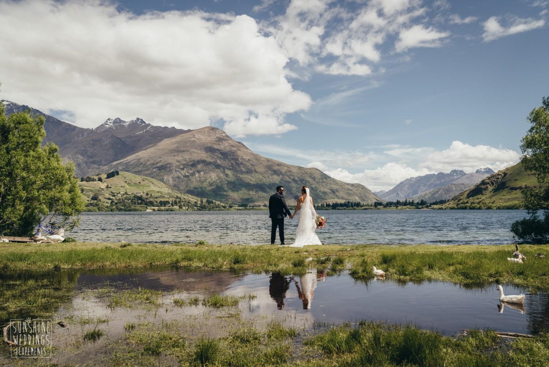 Lake hayes wedding Queenstown