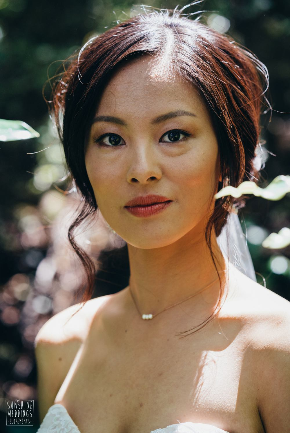 bridal portrait wedding photographer NZ