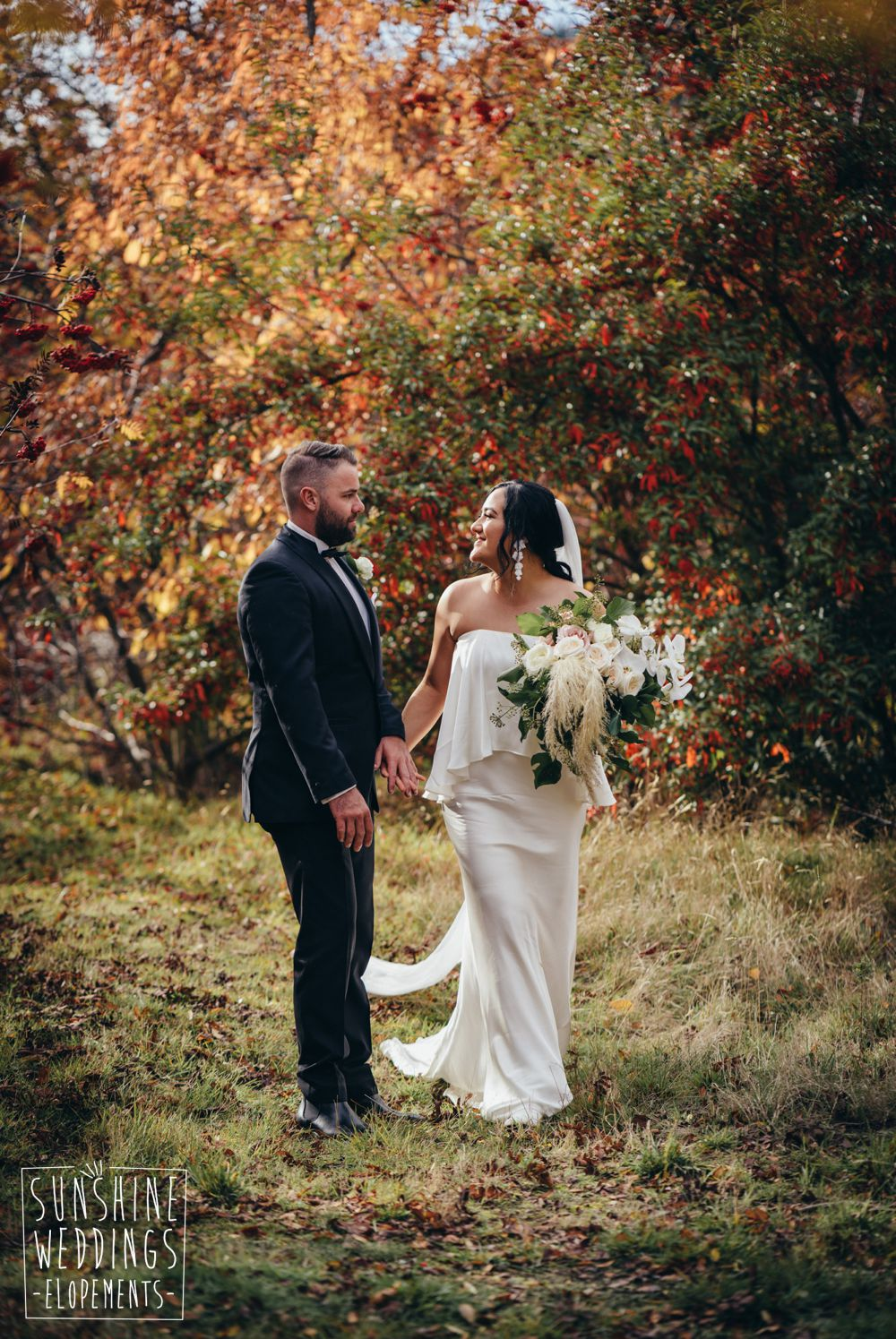 New Zealand autumn wedding packages