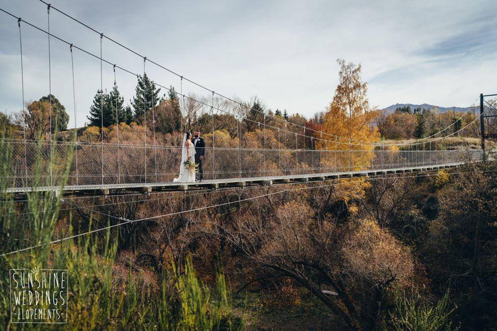 NZ elopement wedding
