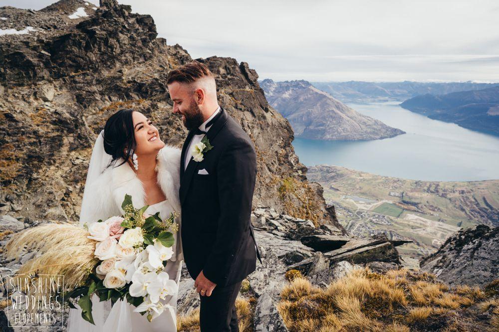 Queenstown mountain wedding Remarkables