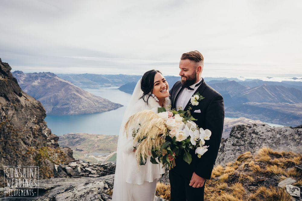 Remarkables Queenstown mountain elopement