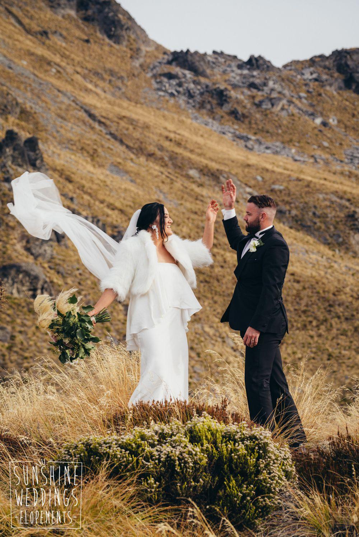 Cecil Peak Queenstown wedding
