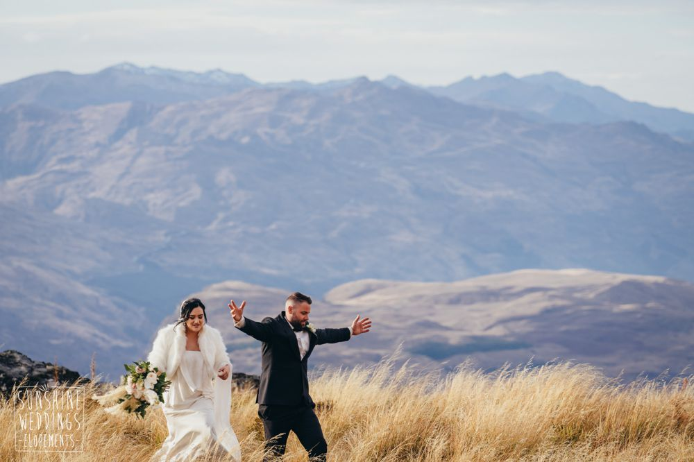 Queenstown mountain weddings and photography