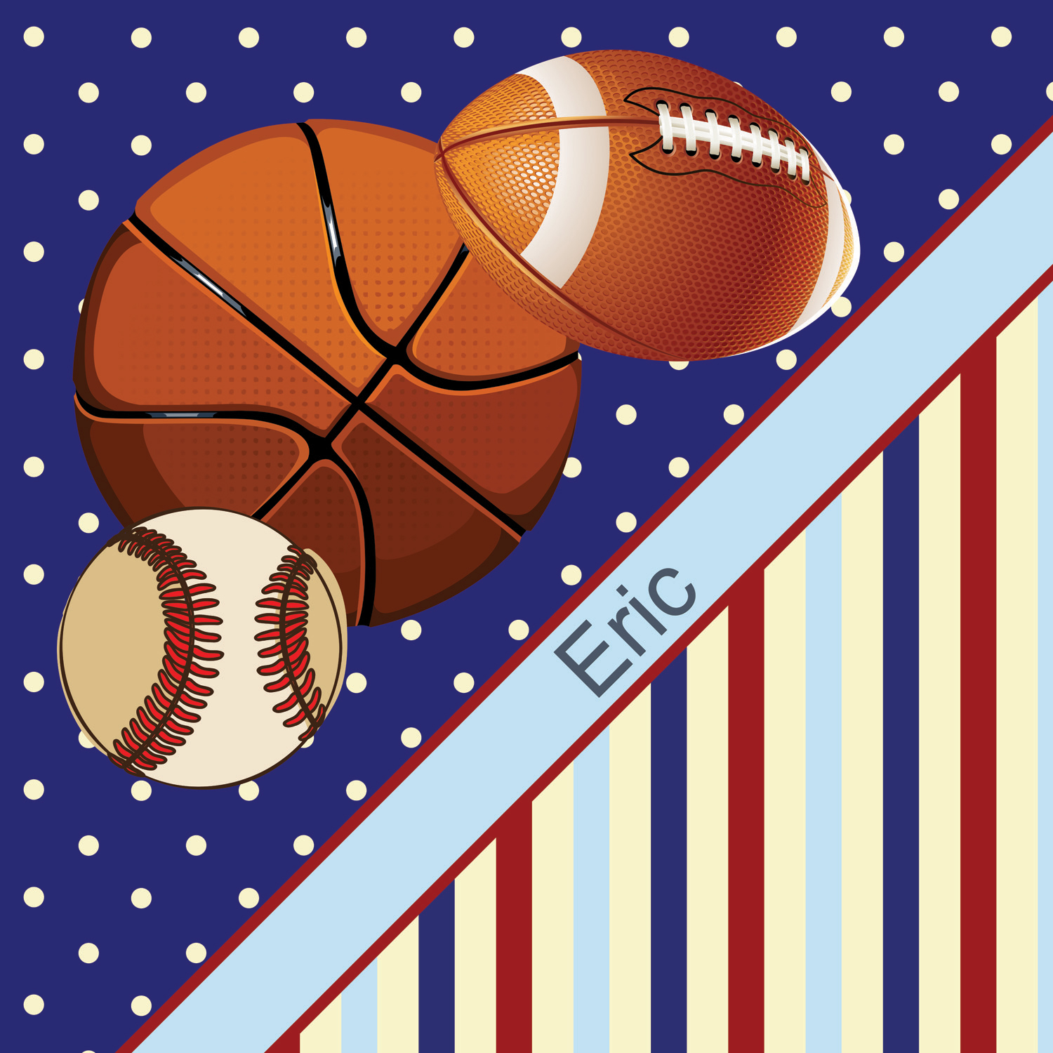 Blue Boys Sports Themed Shower Curtain With Baseball Basketball And Football 151 Eloquent