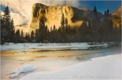 Golden Light, El Capitan, Yosemite