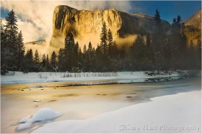 Gary Hart Photography: Winter Light, El Capitan, Yosemite