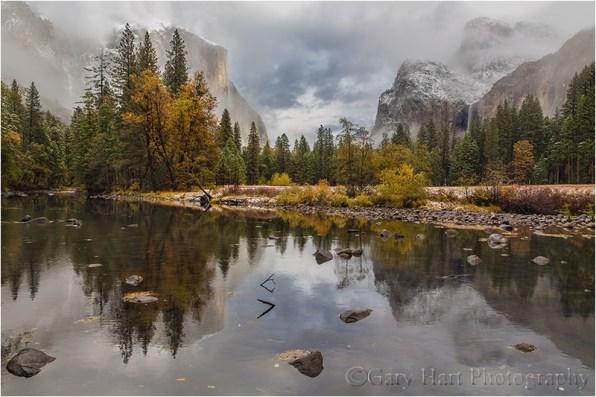 Autumn Snow, Valley View, Yosemite