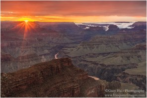 Gary Hart Photography: Grand Canyon Sunset, Hopi Point