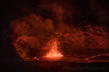 Gary Hart Photography: Kilauea Fountain, Hawaii