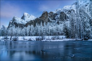 Gary Hart Photography: After Twilight, Valley View, Yosemite