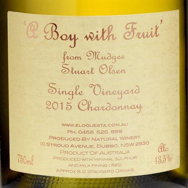 A Boy With Fruit Chardonnay 2015