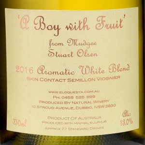 A Boy With Fruit Aromatic White Grape Blend 2016