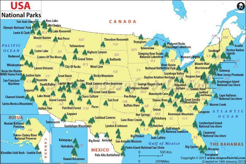 Mapas Para Conocer Estados Unidos El Orden Mundial En El SXXI - Usa mapa