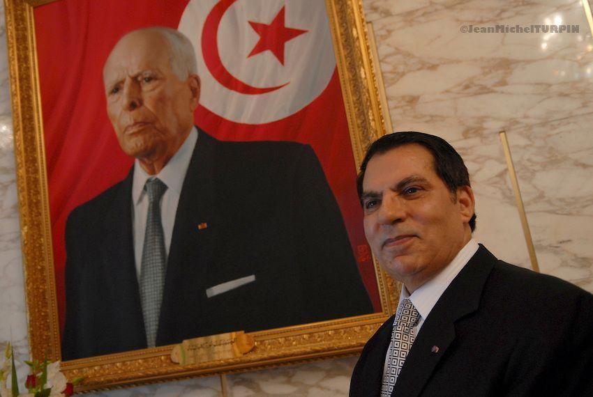 Repaso a las biografías de los autócratas derrocados tras la Primavera Árabe: Ben Ali