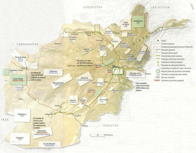 Riquezas minerales de Afganistán 2