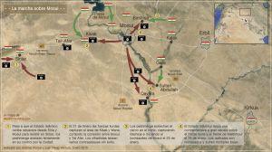 La marcha sobre Mosul