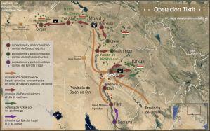 La guerra contra el Estado Islámico: Operación Tikrit