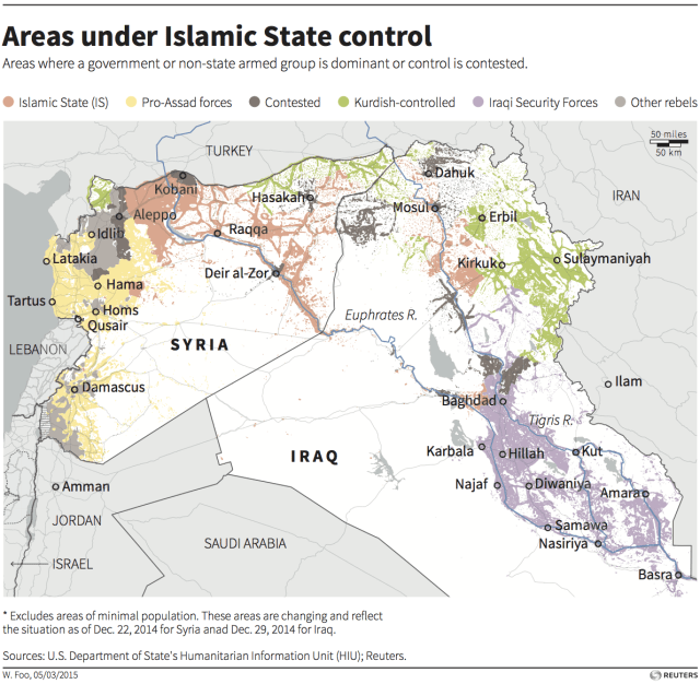 syria iraq map isis assad kurdish iraq security