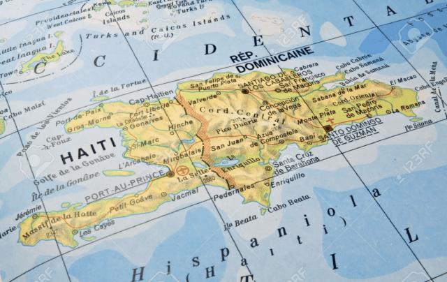 """Mapa de """"La Española"""""""