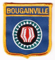 Escudo con la bandera de Bougainville
