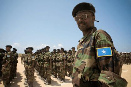 Regimiento del nuevo ejército somalí