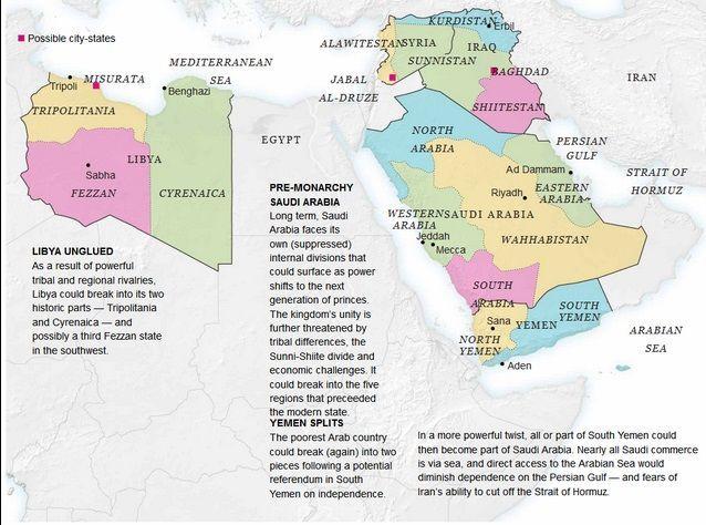 Estados árabes oriente medio