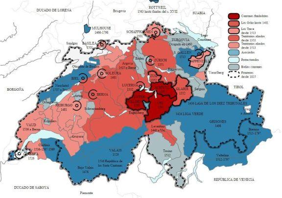 Expansión Suiza