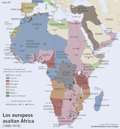 A la hora de repartir la tarta africana, sobre Bélgica recayeron la actual República Democrática del Congo, Burundi y Ruanda