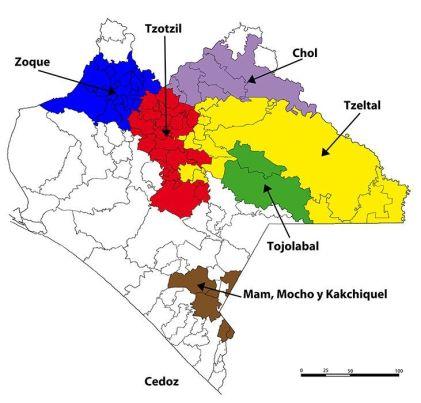 Reductos militares del EZLN. Fuente: http://www.cedoz.org/site/galerias/210.jpg