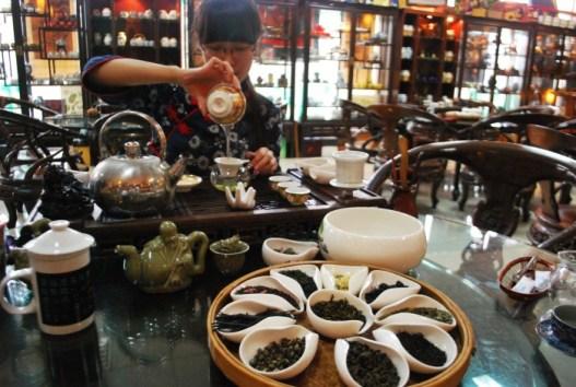 La ceremonia del té, tradicional en China, ha acabado exportándose a otros lugares del mundo