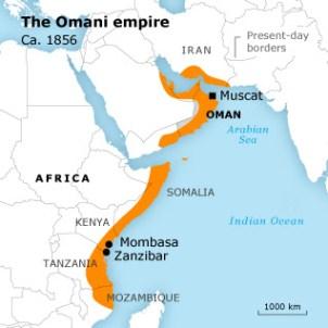 El imperio omaní a mediados del siglo XIX