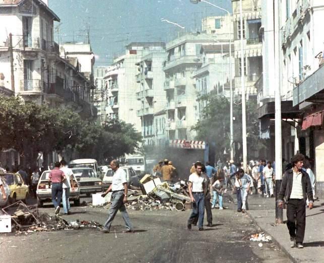 Disturbios de octubre de 1988