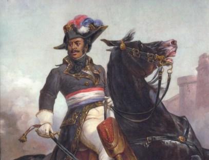 Alexandre Dumas (padre), uno de los partícipes más célebres en la independencia haitiana. Fuente: Wikipedia