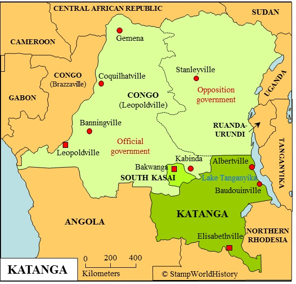 Katanga, una rica región del sureste congoleño