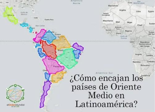 Ya sólo geográficamente, lo que a menudo se entiende como Oriente Medio es de un tamaño similar a Sudamérica y parte de Centroamérica.