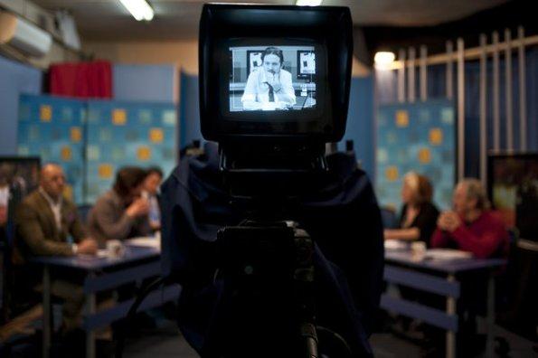 TeleK y 'La Tuerka' fue el primer espacio televisivo de Pablo Iglesias. Fuente: Verkami