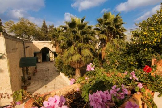 El Hospicio indio de Jerusalén. Fuente: BBC