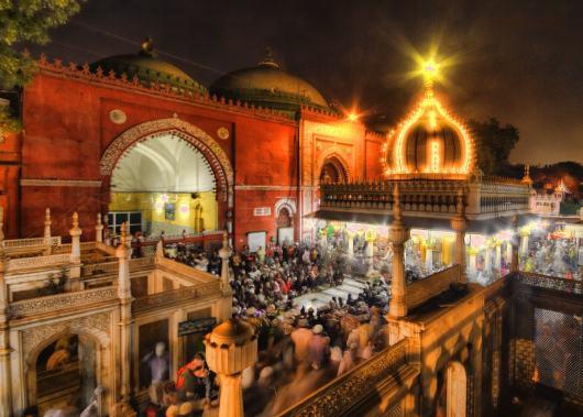 Santuario de Nizamuddin Dargah. Fuente: The Better India
