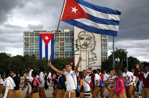 Plaza de la Revolución (La Habana, 2015). Fuente. Efe
